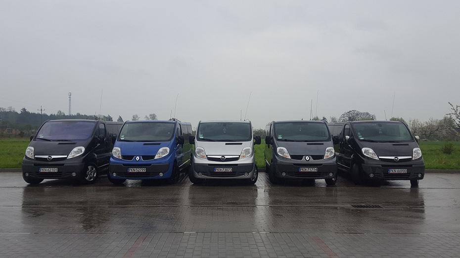 Samochody naszej floty