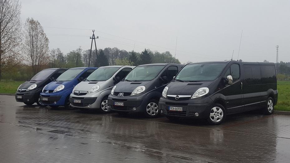 Flota Opel Vivaro
